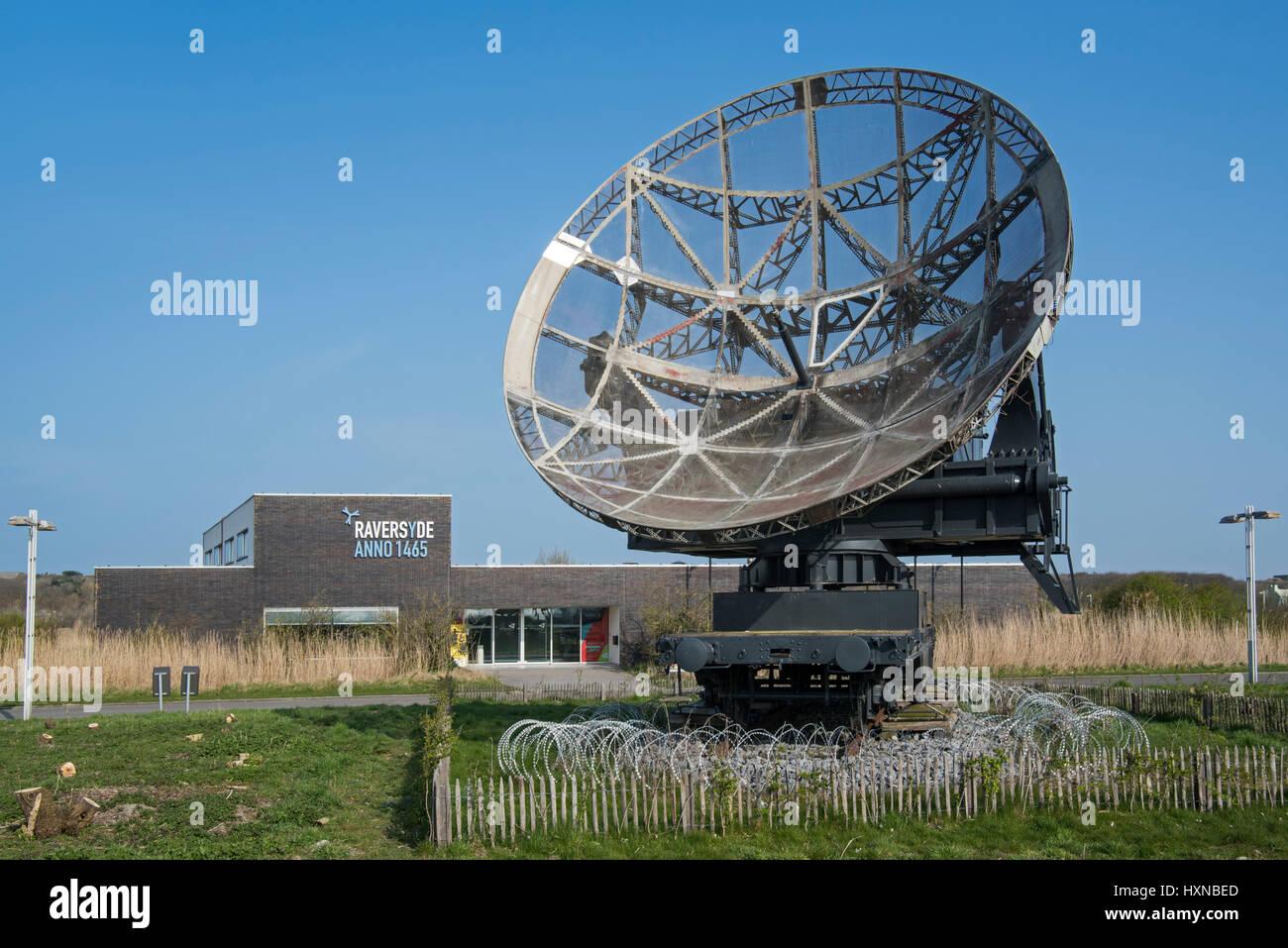 German wrzburg riese radar stock photos german wrzburg riese parabolic antenna of world war ii wrzburg riese radar raversyde atlantikwall atlantic wall open publicscrutiny Image collections
