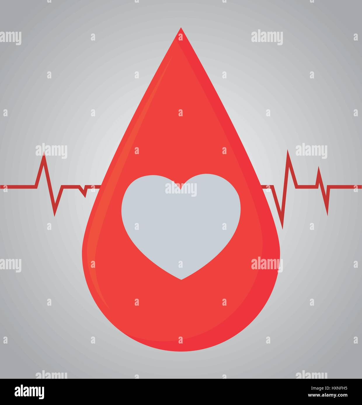 donation blood design - Stock Image