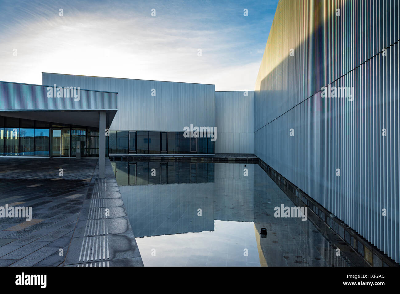 'Nucleus', the Nuclear and Caithness Archives building, Wick, Caithness, Scotland, UK Stock Photo