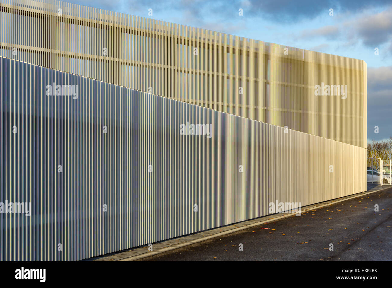 'Nucleus', the Nuclear and Caithness Archives building, Wick, Caithness, Scotland, UK - Stock Image