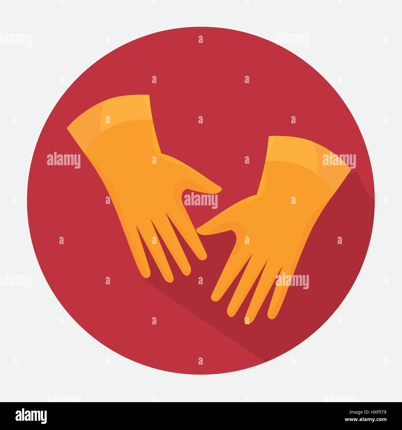 Latex Gloves Stock Vector Images Alamy