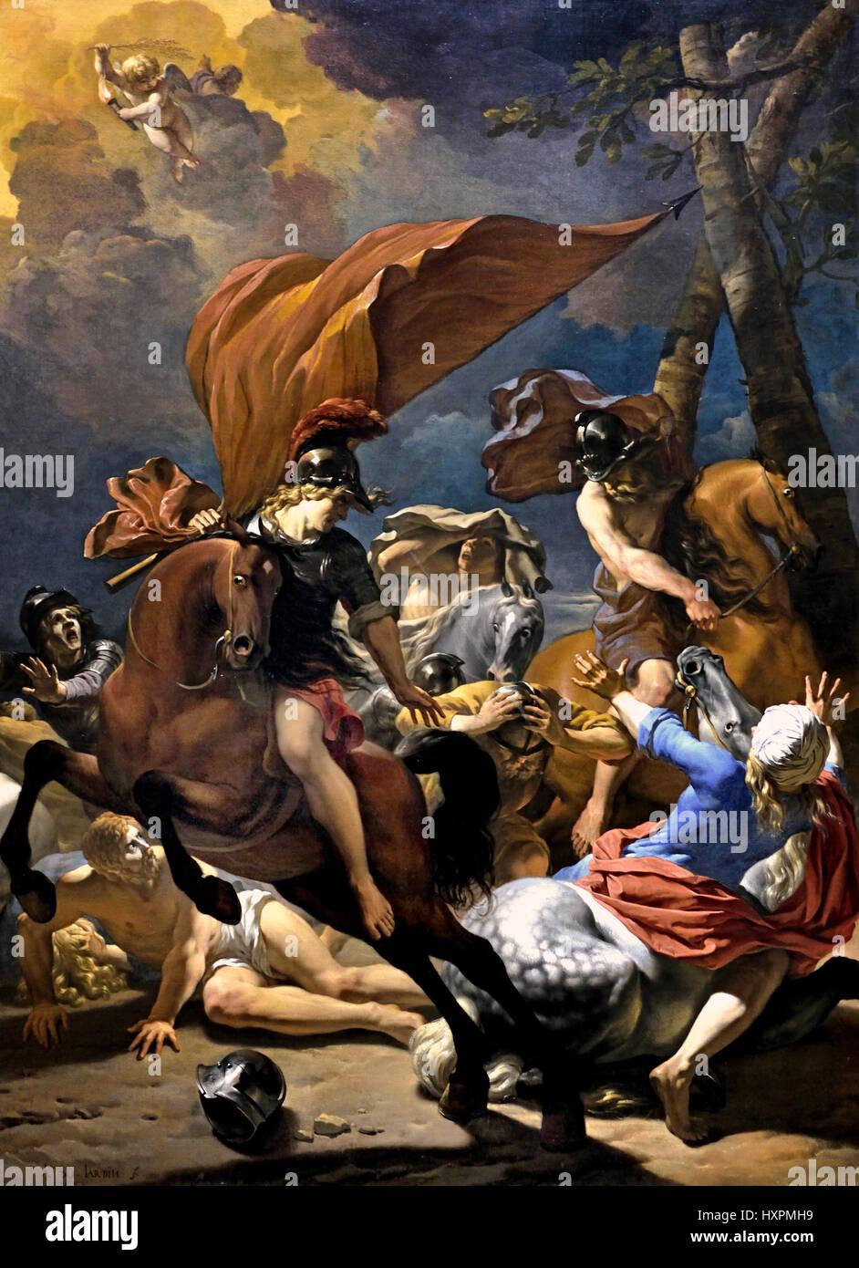 The Conversion of Saint Paul 1662 Karel Dujardin 1626 - 1678  Dutch The Netherlands - Stock Image