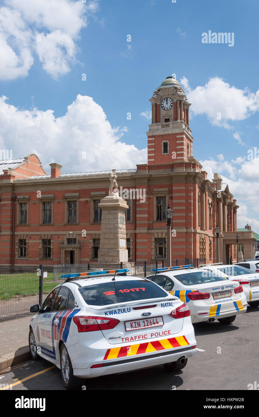 Harrismith Town Hall (National Monument), Warden Street, Harrismith, Free State Province, Republic of South Africa - Stock Image