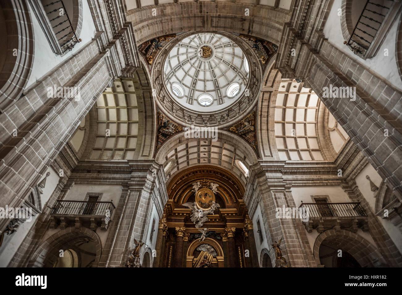 Monastery Of St Julian Of Samos Samos Lugo Galicia Spain Europe Stock Photo Alamy