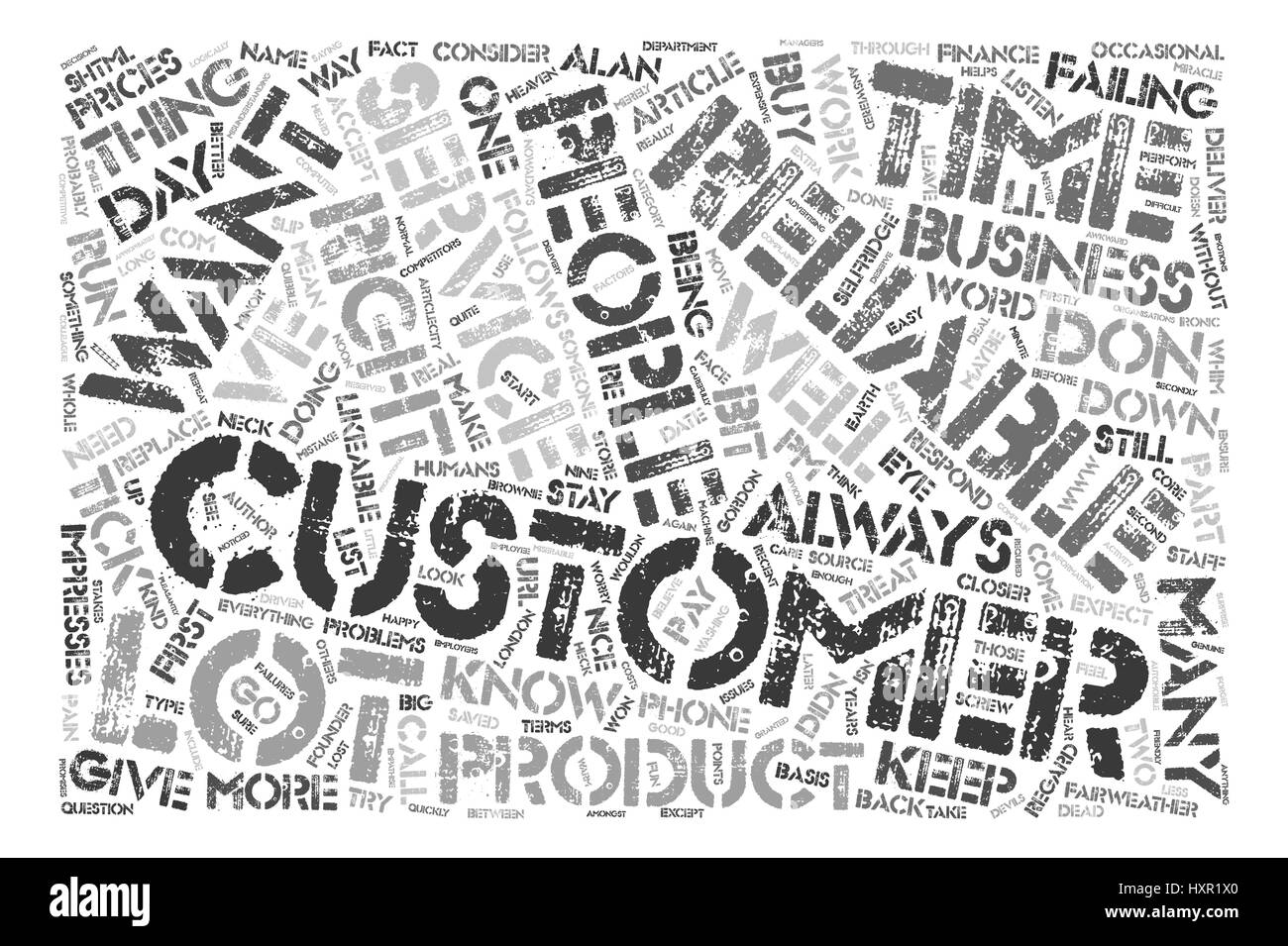 How to Keep Customers text background word cloud concept - Stock Vector
