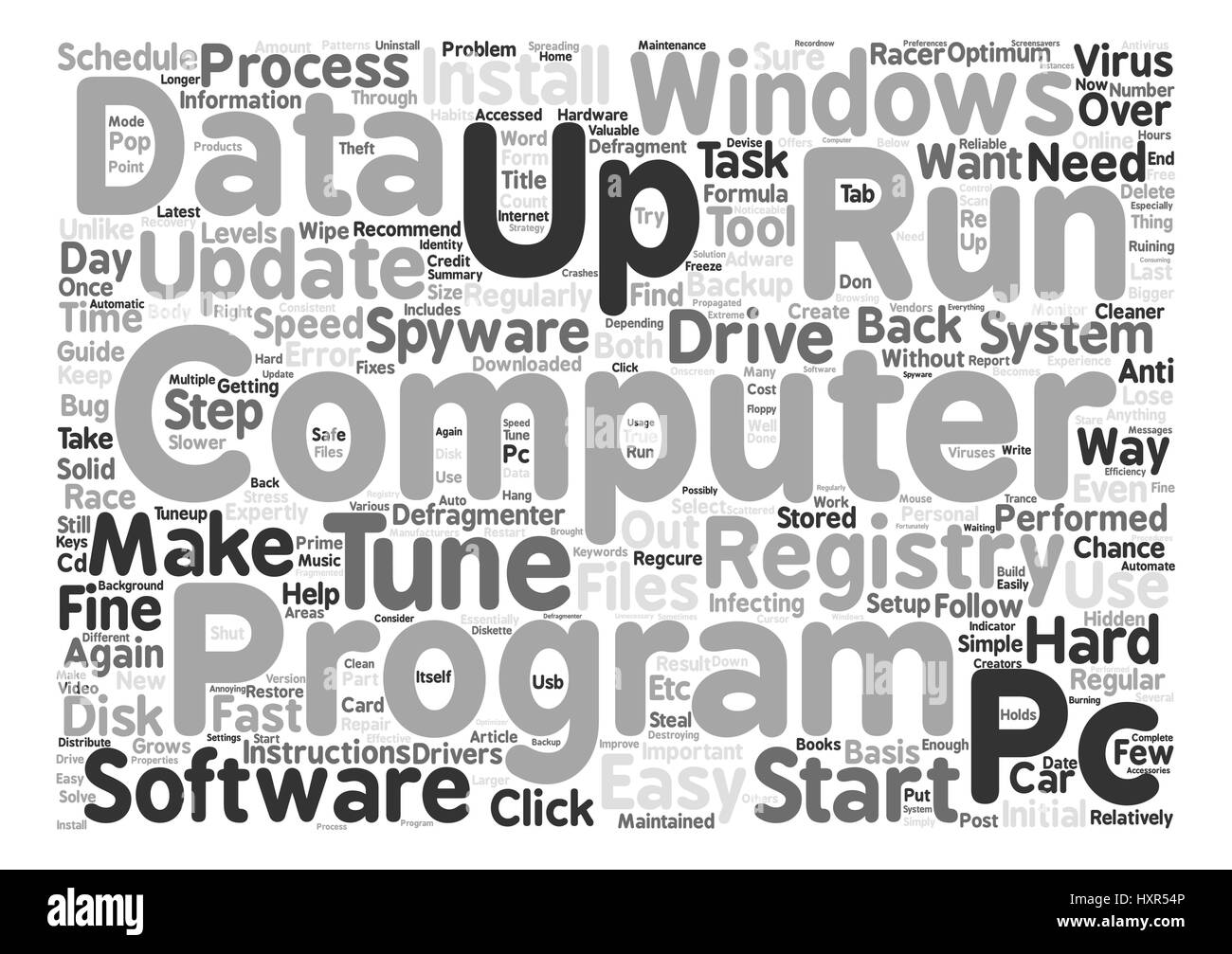 Repro is Not a Four Letter Word text background word cloud concept - Stock Image