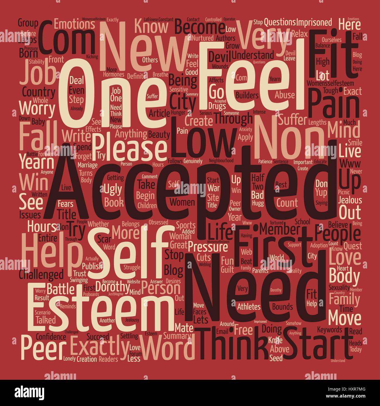 Acceptance Word Cloud Concept Text Background Stock Vector