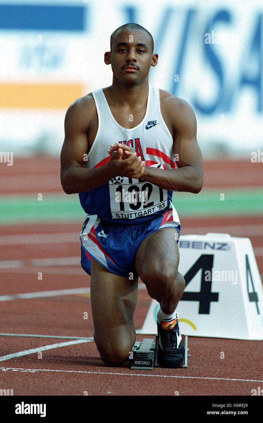 MIKE MARSH . 200 METRES 24 December 1993 - Stock Image