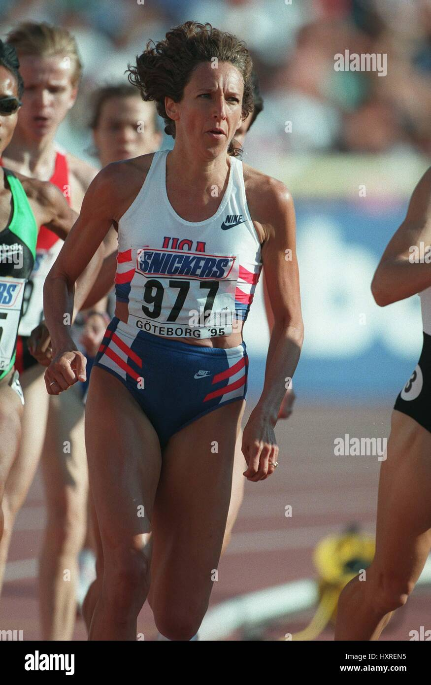 RUTH WYSOCKI 1500 METRES 08 August 1995 - Stock Image