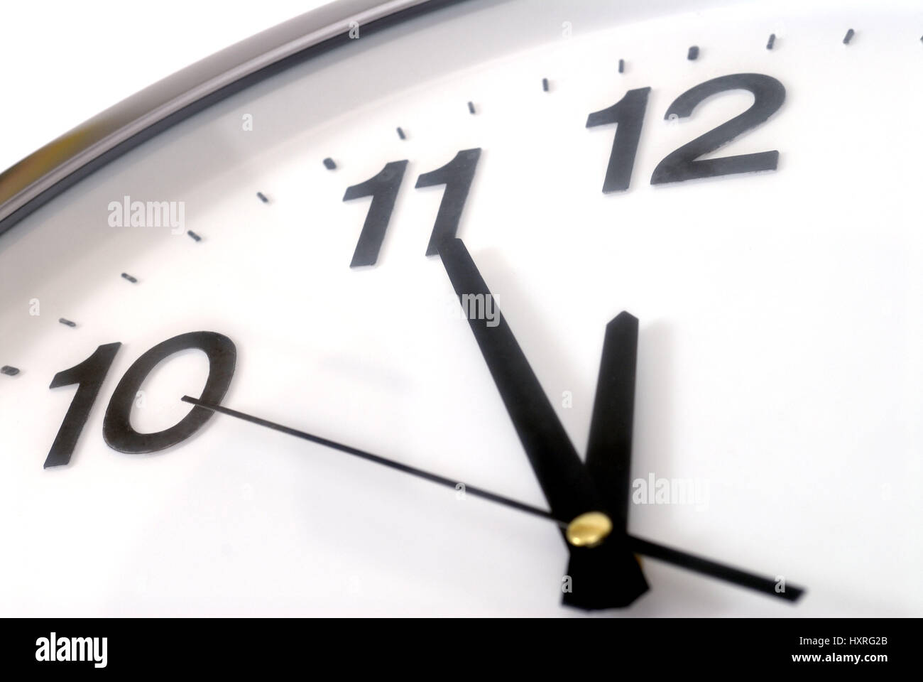 Clock, watches, symbol, symbols, symbolic picture, symbolic pictures, symbolic photo, symbolic photos, Five, before, - Stock Image