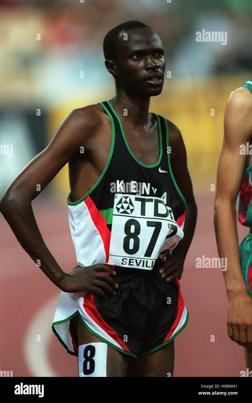 LABAN ROTICH 1500 METERS 24 August 1999 - Stock Image