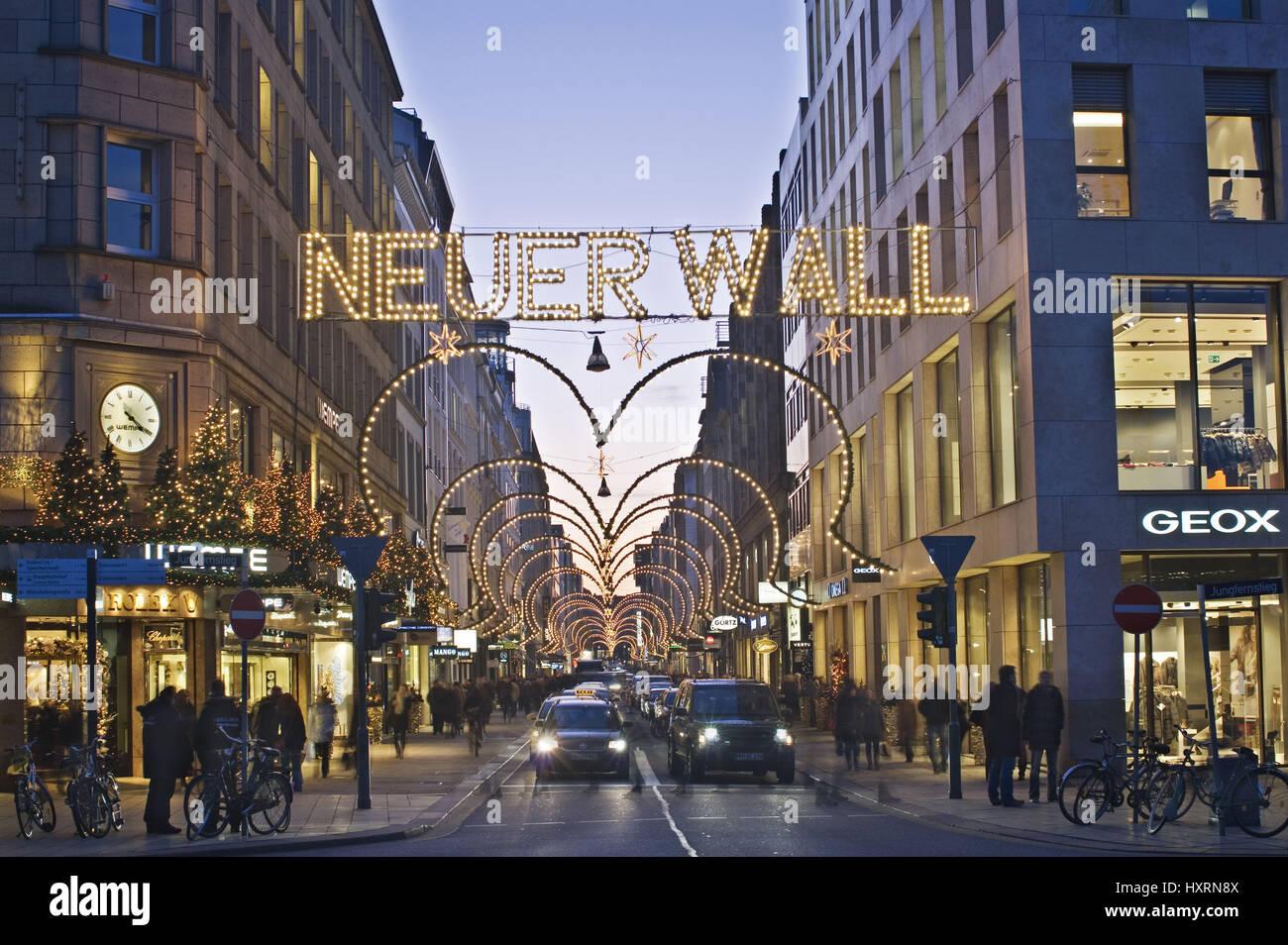 Neuer Wall Weihnachtsbeleuchtung.Neuer Wall Street Stock Photos Neuer Wall Street Stock Images Alamy