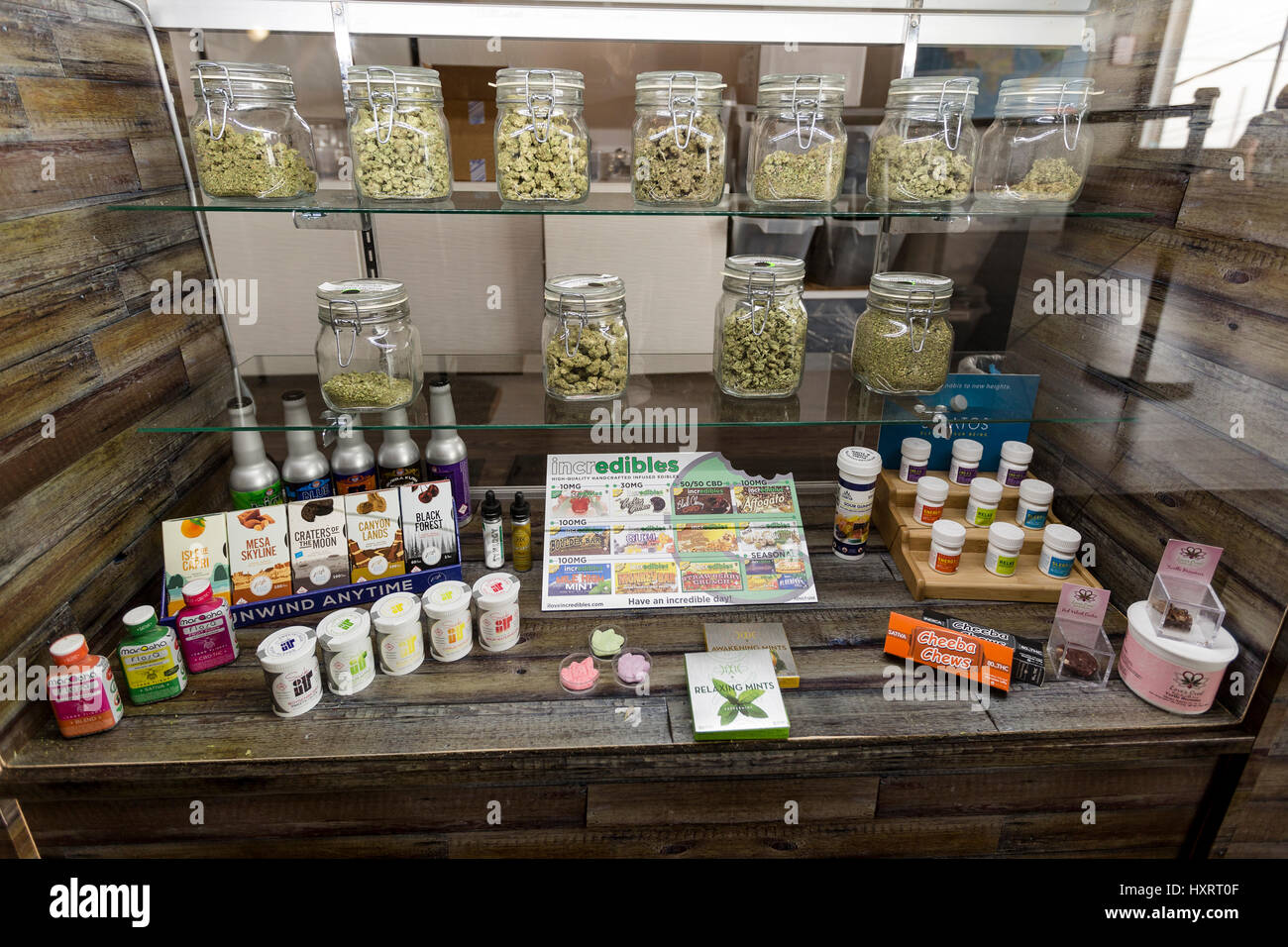Candy Display Case Stock Photos & Candy Display Case Stock
