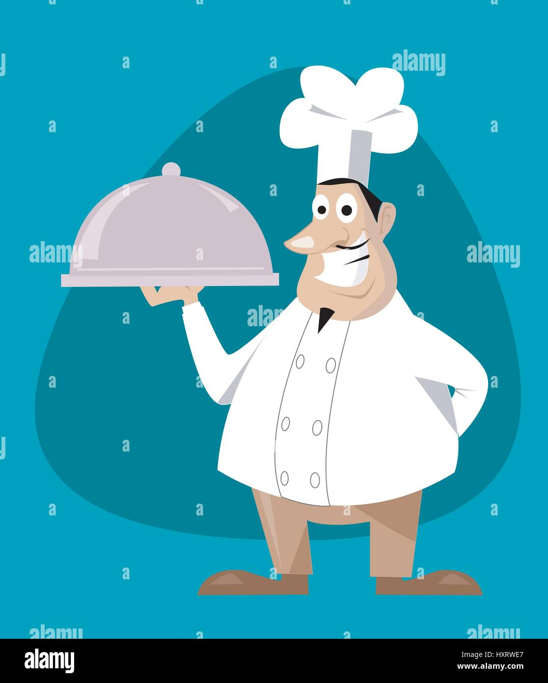 chef vector illustration Stock Vector Art   Illustration b64156ffb879