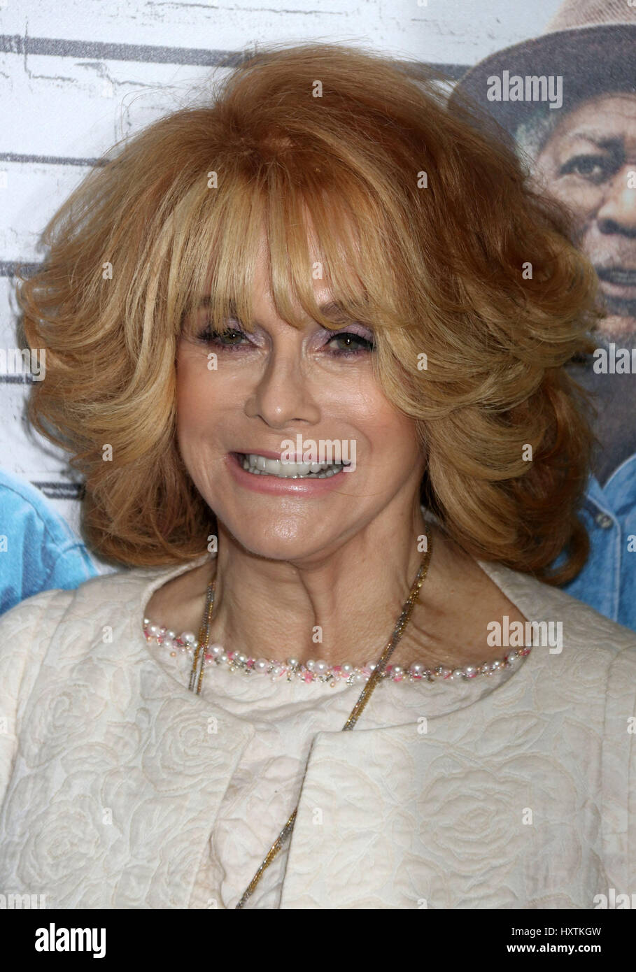 New York, New York, USA. 30th Mar, 2017. Actress ANN-MARGRET attends 'Going In Style' New York premiere - Stock Image