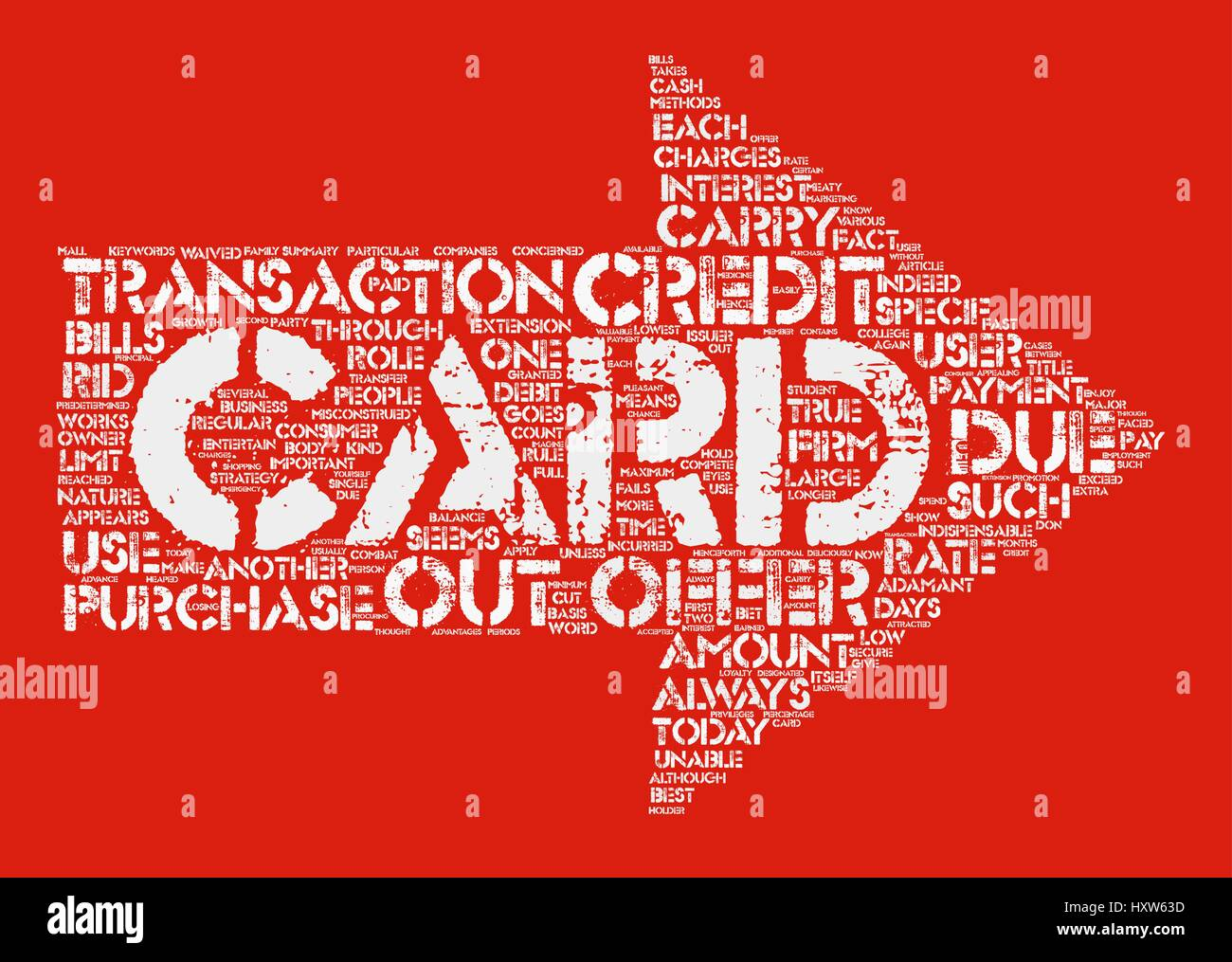 Credit Card Offers Get The Best Out Of It Word Cloud Concept Text Background - Stock Vector