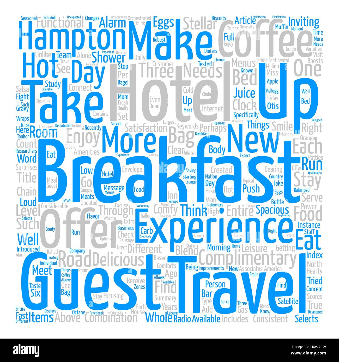 eat up travelers enjoy breakfast on the road word cloud concept text