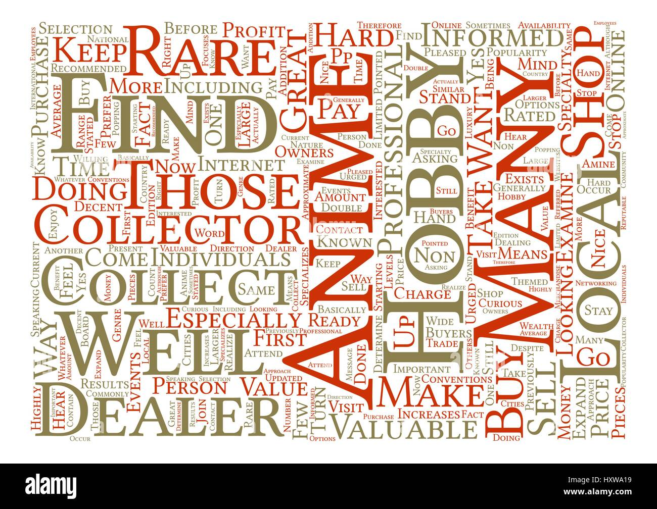 how to find anime dealers text background word cloud concept stock
