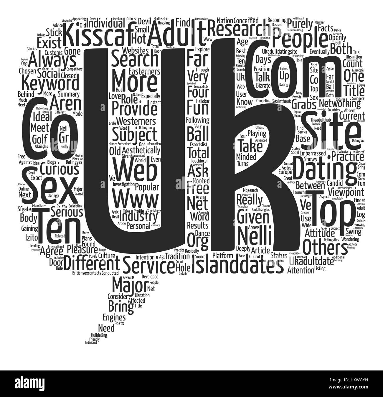 Research Word Cloud Concept Text Background - Stock Vector