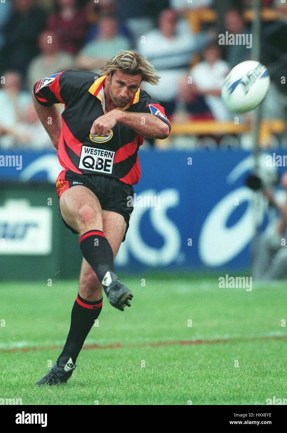 CHRIS RYAN WESTERN REDS RLFC 09 June 1997 - Stock Image