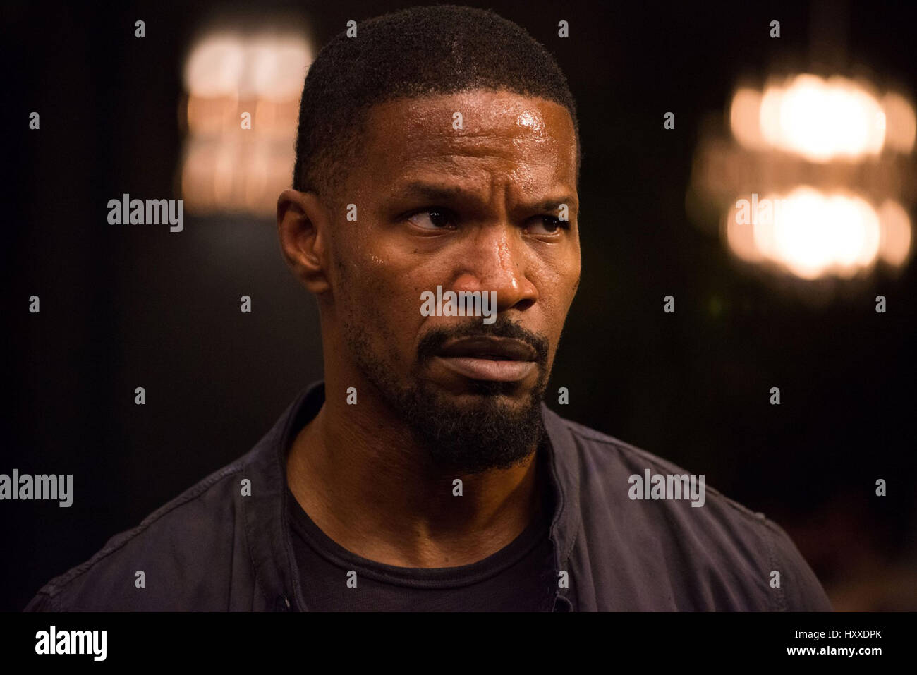 SLEEPLESS (2017)  JAMIE FOXX  BARAN BO ODAR (DIR)  OPEN ROAD FILMS/MOVIESTORE COLLECTION LTD - Stock Image