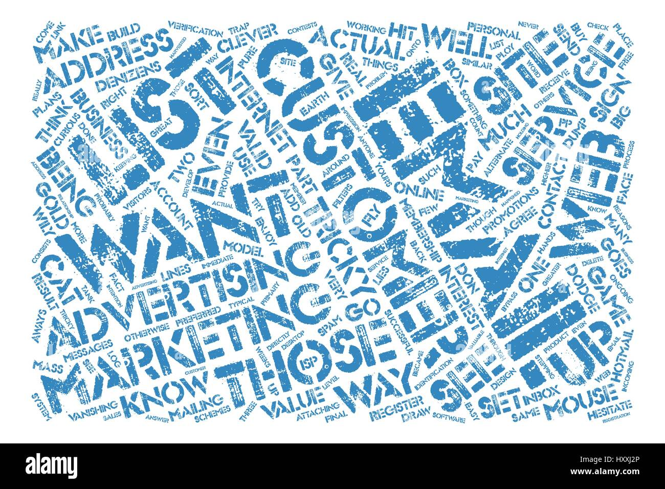 Those Tricky Customers Word Cloud Concept Text Background - Stock Vector