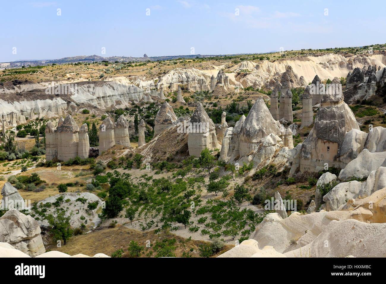 Cappadocia Love Valley, Turkyie - Stock Image
