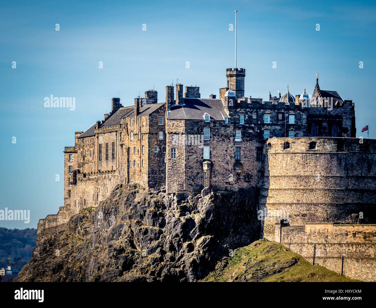 Edinburgh Castle, Edinburgh, Scotland, UK. Stock Photo