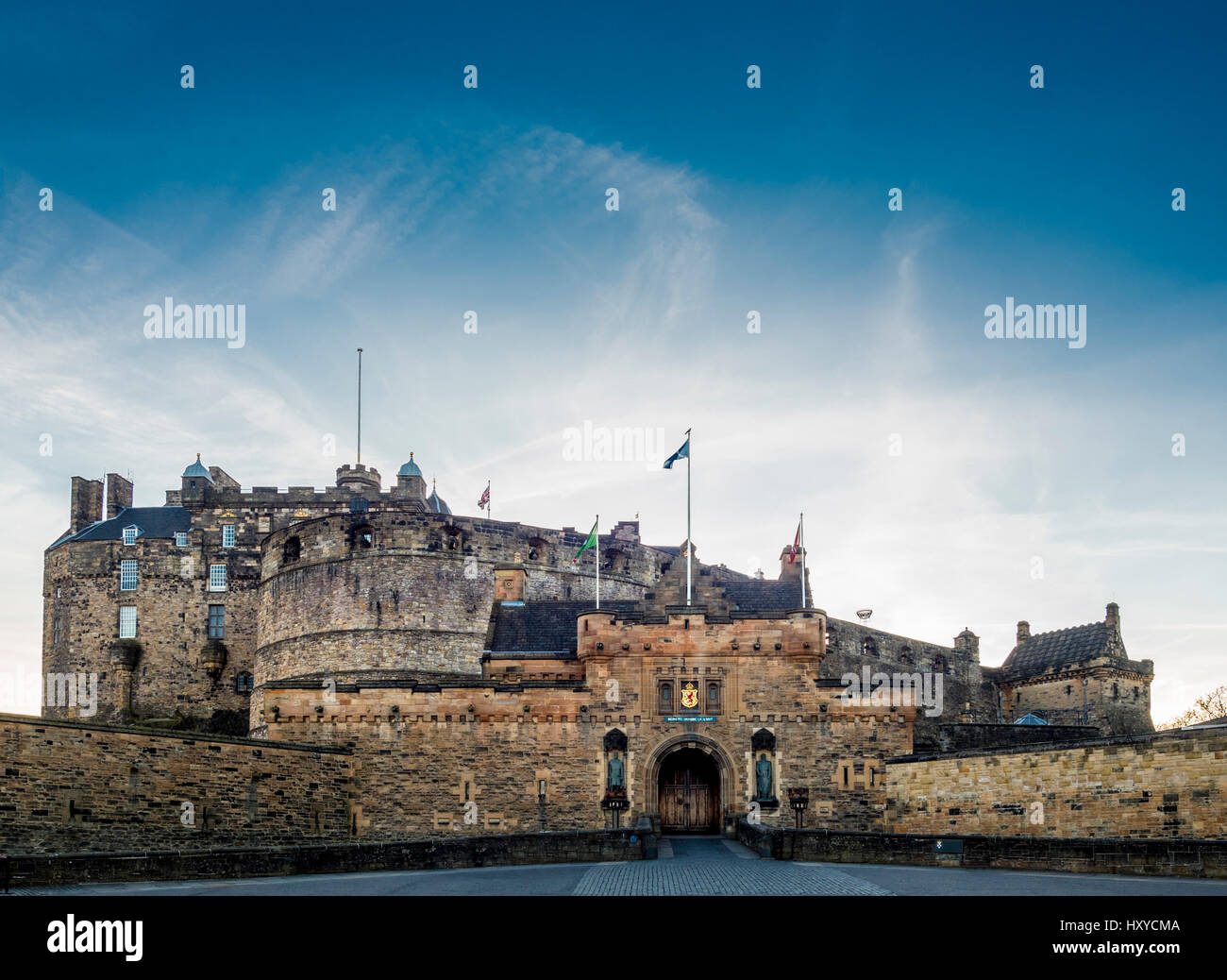 Edinburgh Castle, Edinburgh, Scotland, UK. Stock Photo