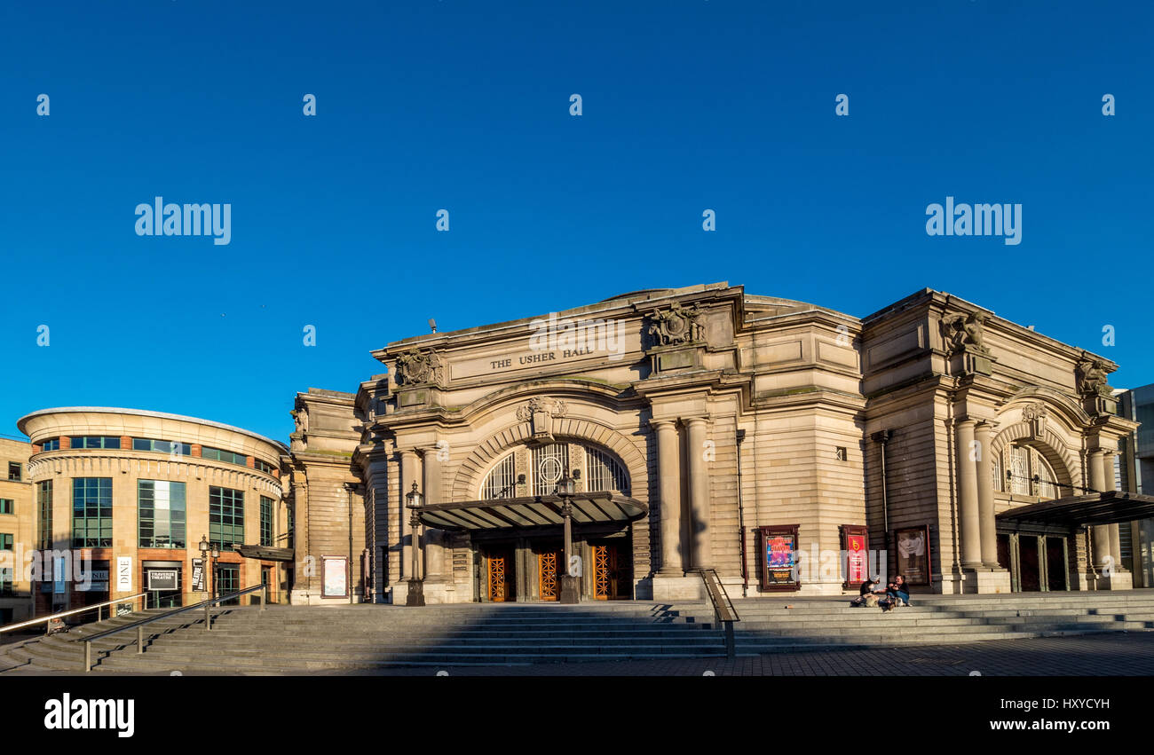 Usher Hall, Edinburgh, Scotland. Stock Photo