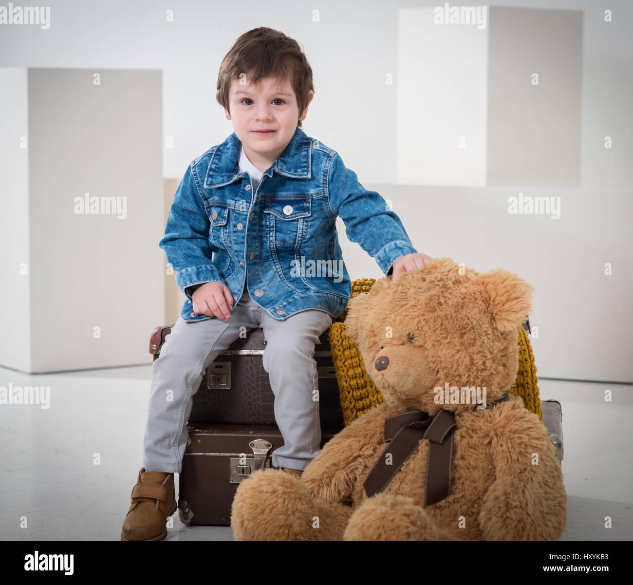 Teddy Bear Passport Bear Toy Soft Animal Travelling Gift Children Kids Holidays