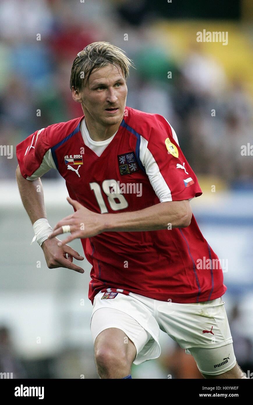 MAREK HEINZ CZECH REPUBLIC & BAN═K OSTRAVA JOSE ALVALADE STADIUM LISBON PORTUGAL 23 June 2004 - Stock Image