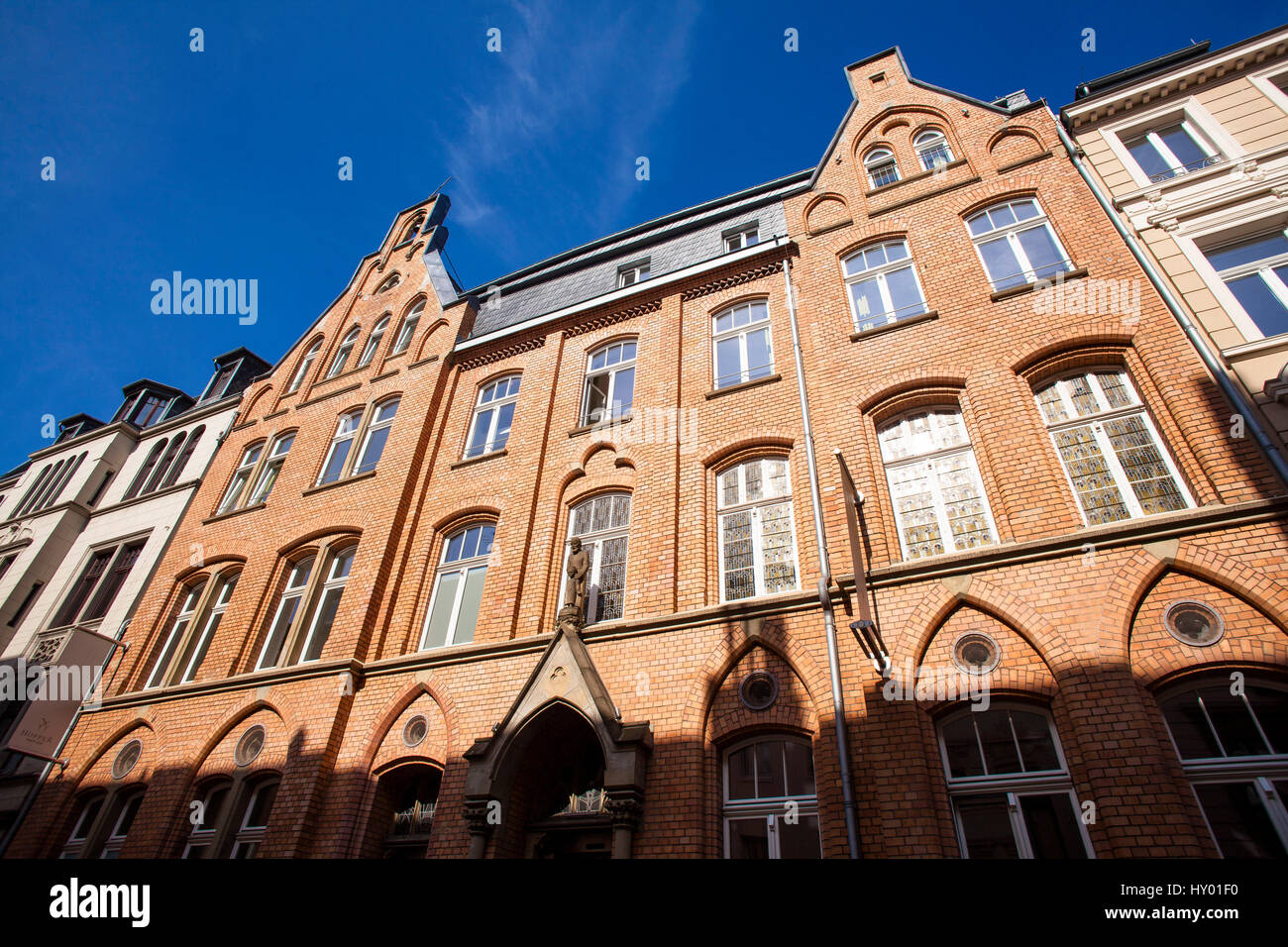 Germany, Cologne, the Hopper Hotel St. Josef in the Dreikoenigenstreet in the south part of the town. - Stock Image