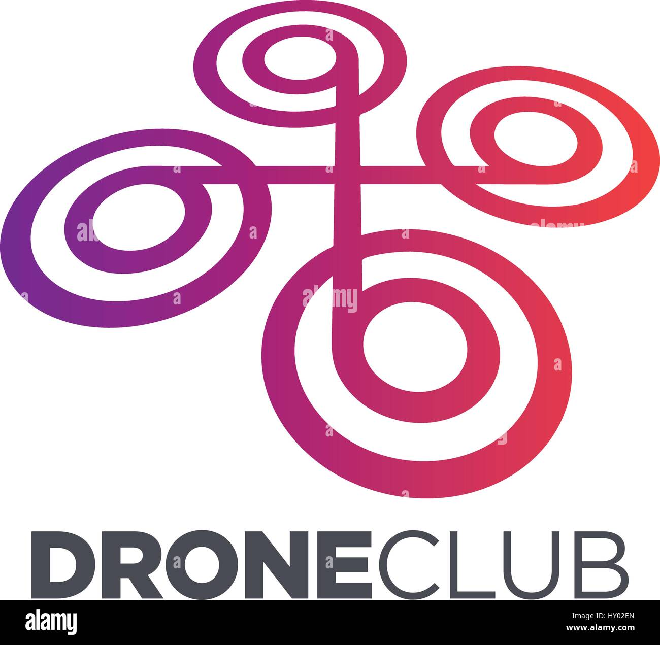 Drone design concept, Visual Photography - Stock Image