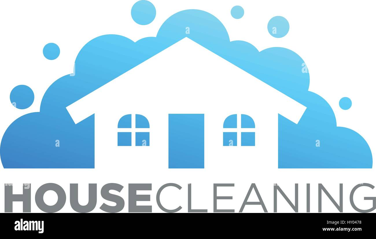 home cleaning cleaning service business concept design