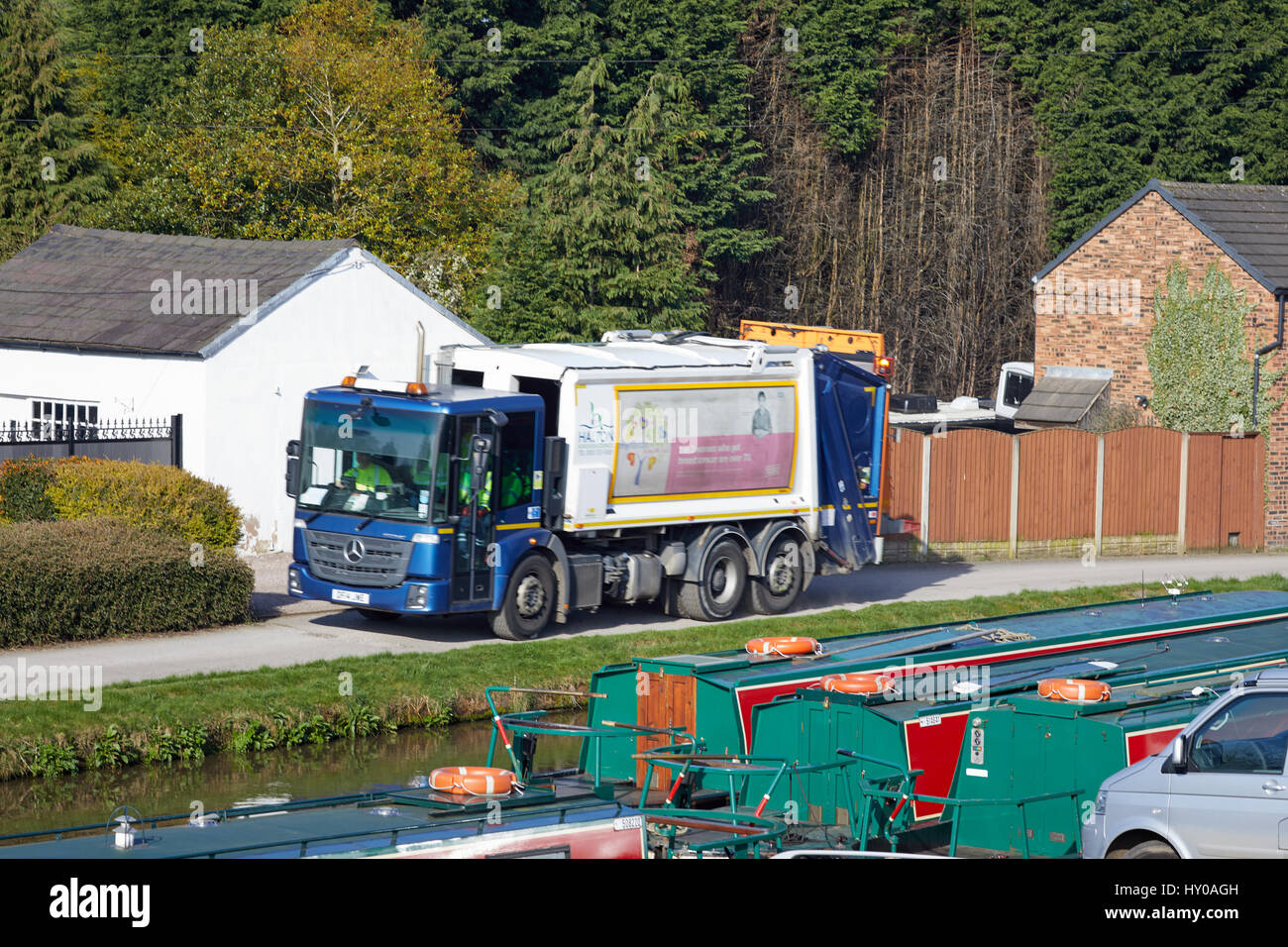 canal rubbish collection stock photos canal rubbish. Black Bedroom Furniture Sets. Home Design Ideas