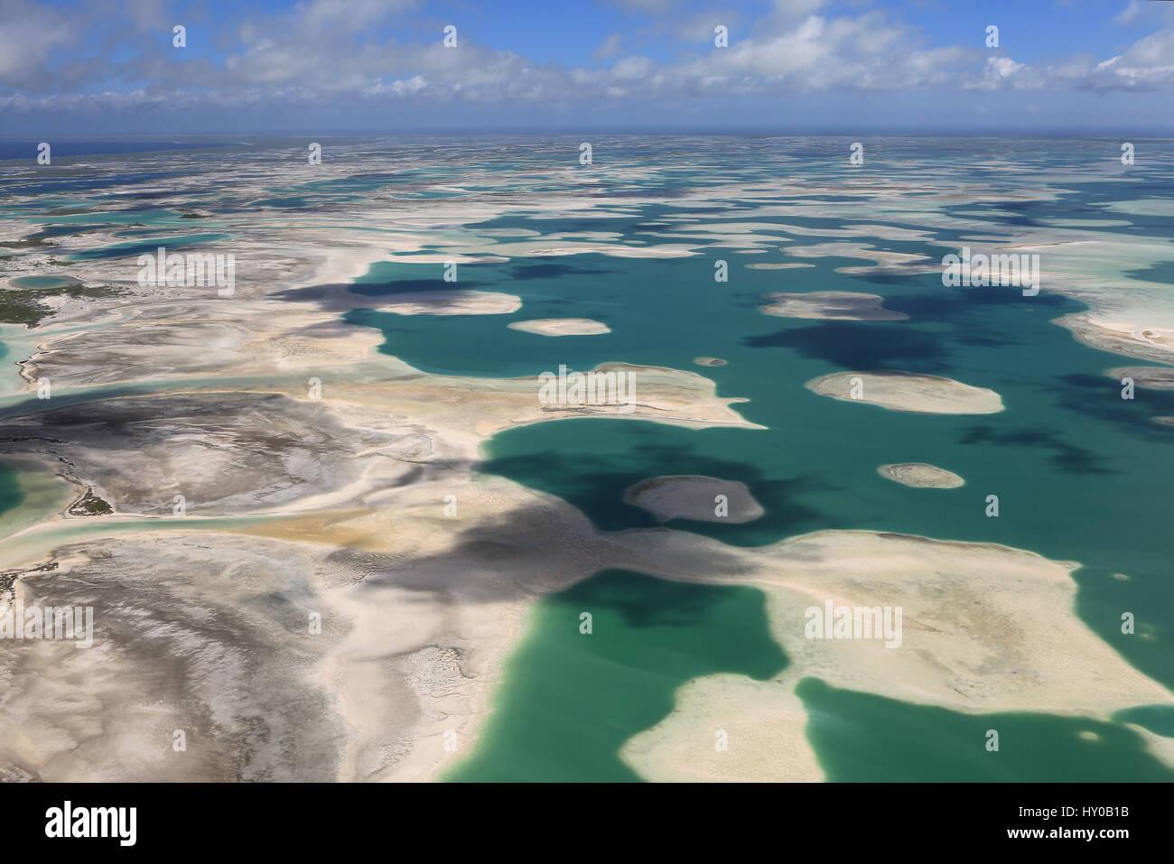 Aerial View Christmas Island Kiritimati Stock Photos & Aerial View ...