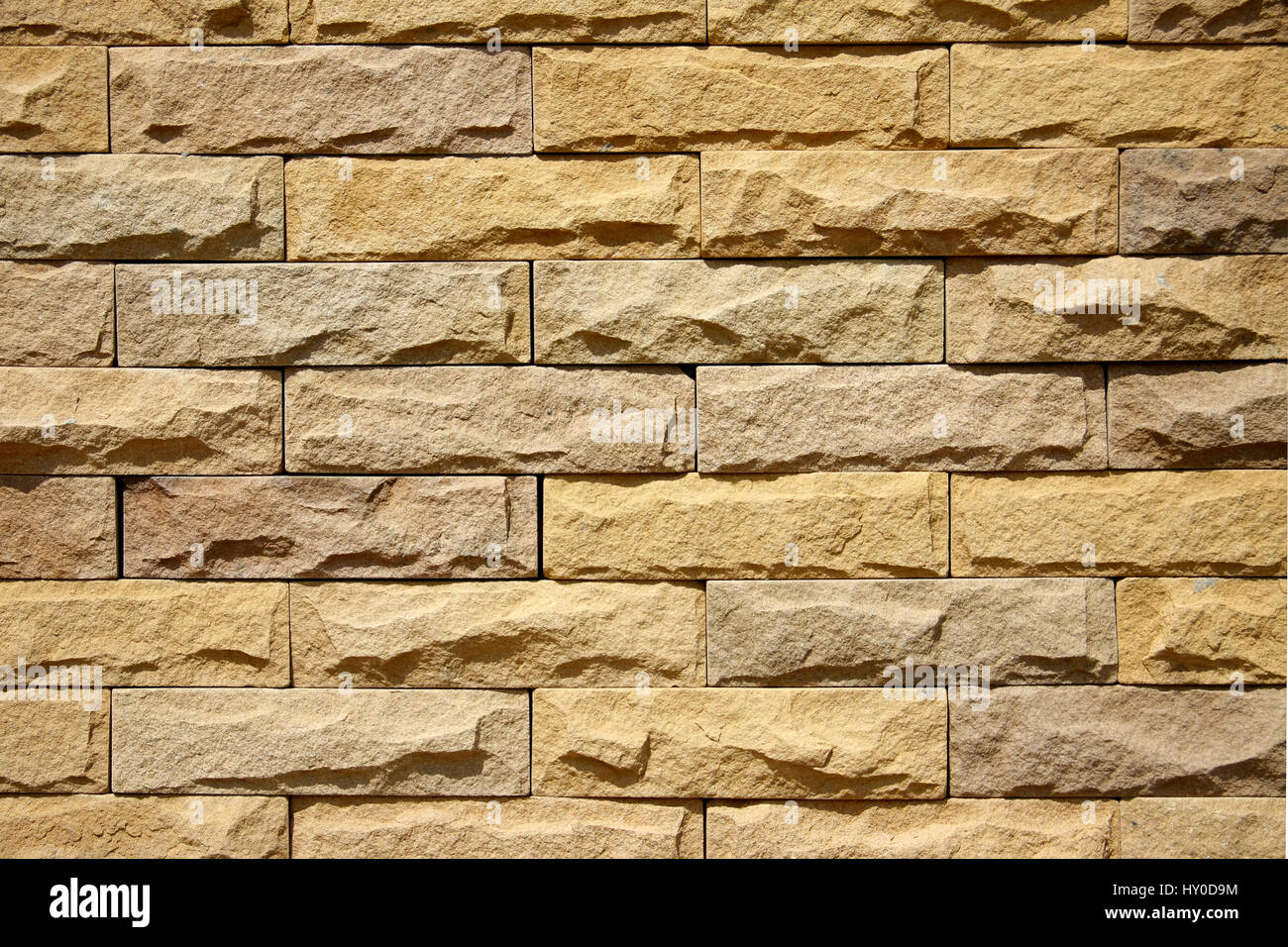 texture of yellow-brown rough brick wall Stock Photo: 137078752 - Alamy