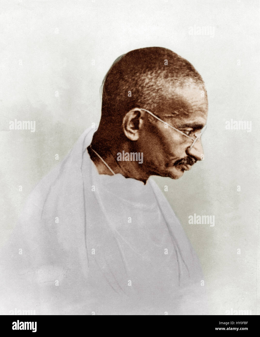 Mahatma gandhi, india, asia, 1927 - Stock Image