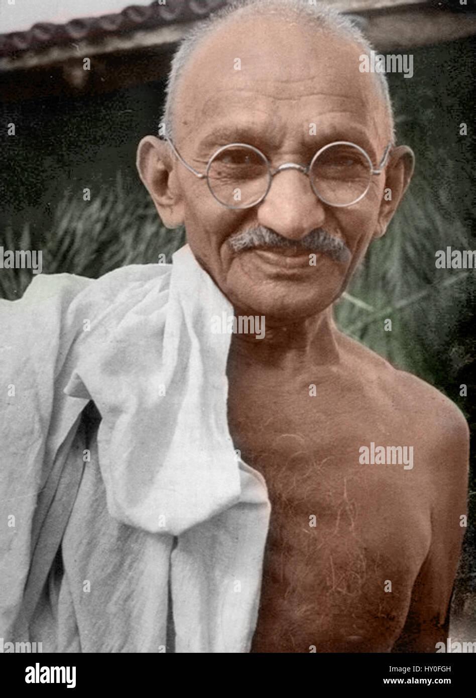 Indian freedom fighter mahatma gandhi, india, asia, 1931 - jay 198548 - Stock Image