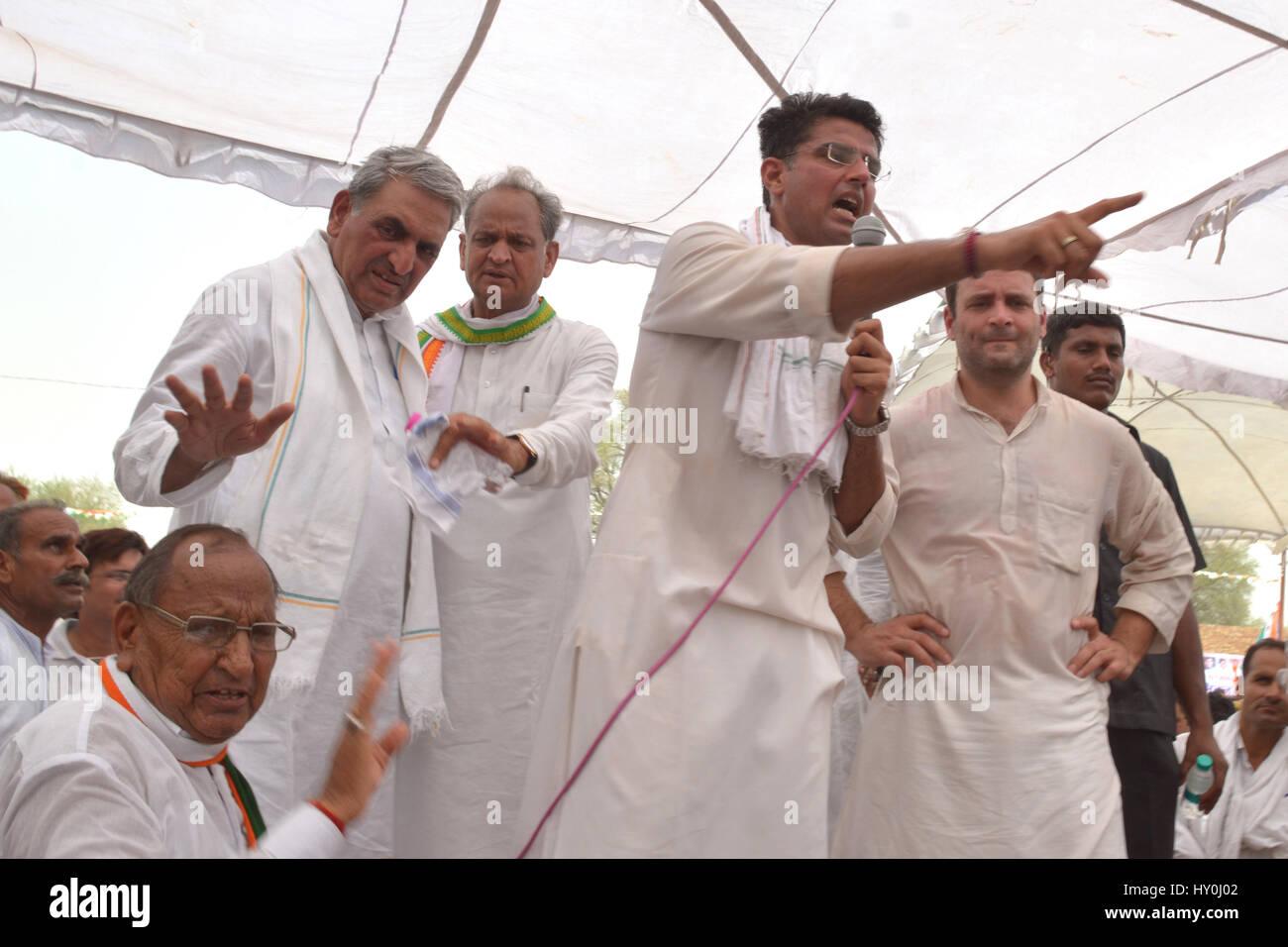 indian national congress party members rahul gandhi sachin pilot