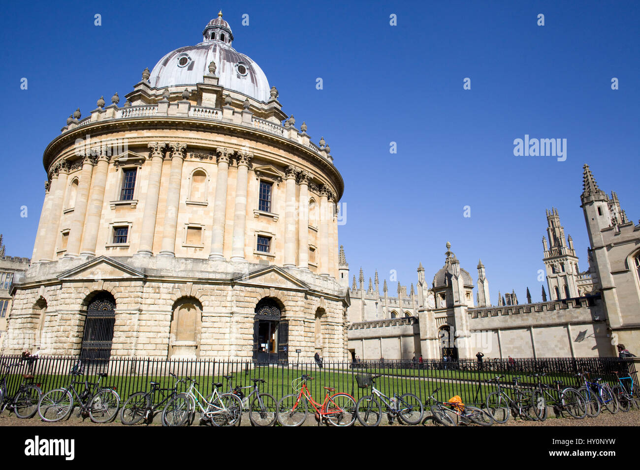 Radcliffe camera. Oxford University, England - Stock Image