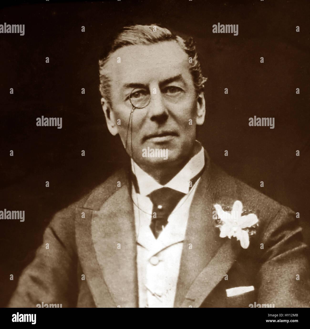 Joseph Chamberlain - Stock Image