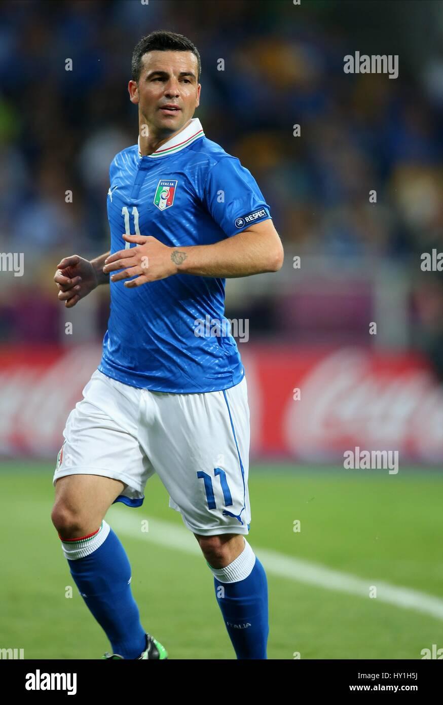 Antonio Di Natale.Antonio Di Natale Italy Udinese Italy Udinese Olympic Stadium Kiev Stock Photo Alamy