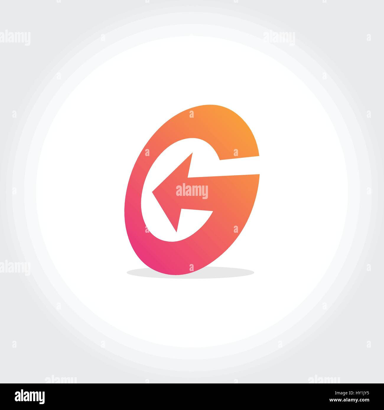 Abstract G Letter Logo Stock Photos Abstract G Letter Logo Stock