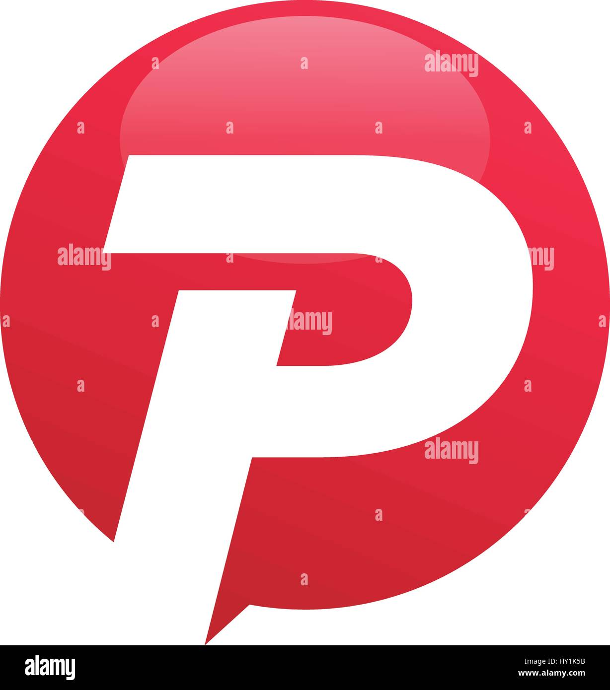 Letter Logo P Font Stock Photos Letter Logo P Font Stock Images