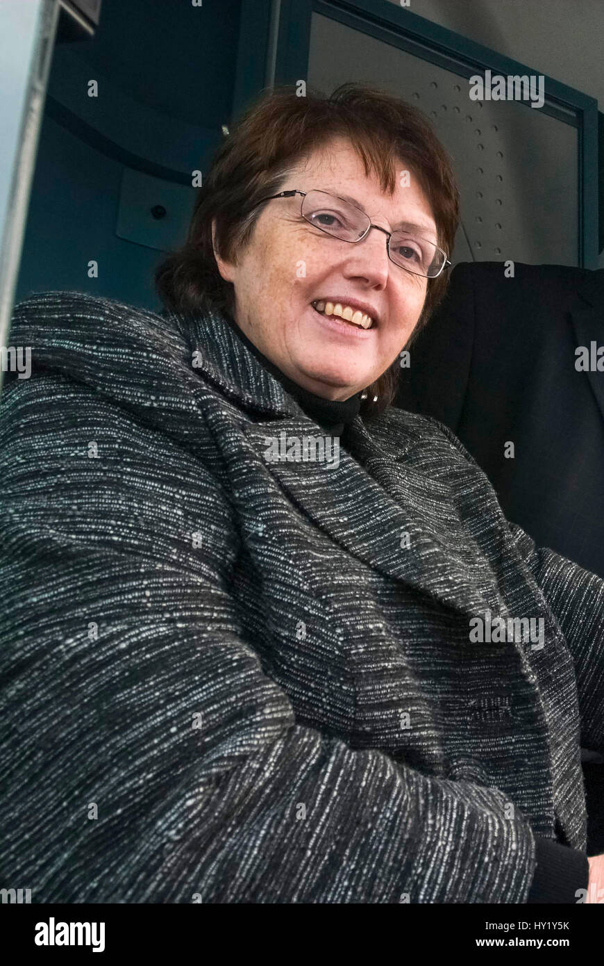 Rosie Cooper M.P. Rosemary Elizabeth Cooper is a British Labour Party politician, who has been the Member of Parliament - Stock Image