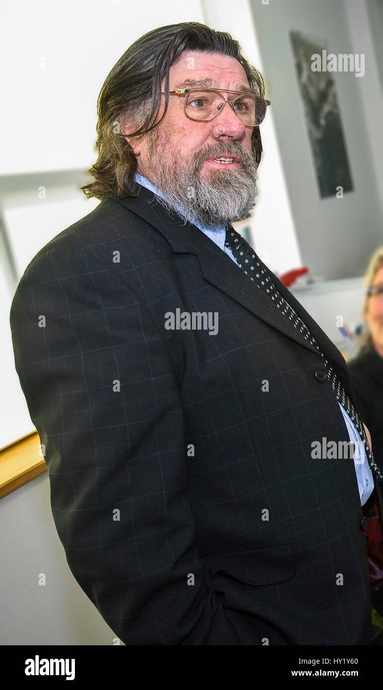 Ricky Tomlinson actor and comedian Royle Family. - Stock Image