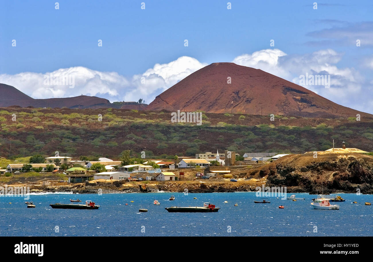 Georgetown, Ascension Island, Afrikanische Westkueste - Stock Image