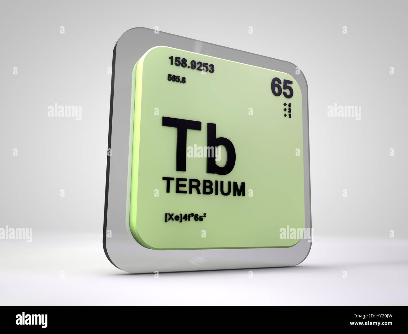 Periodic table chemical element stock photos periodic table terbium tb chemical element periodic table 3d render stock image ccuart Choice Image